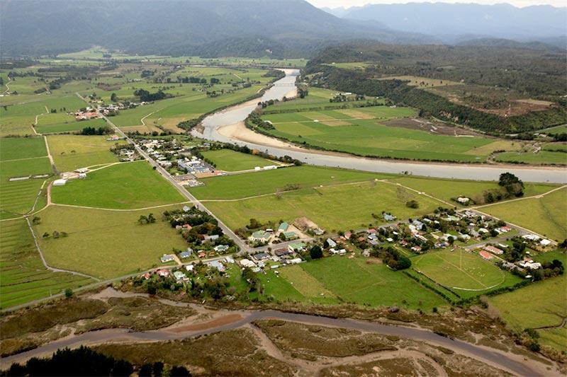 Karamea Aerial View